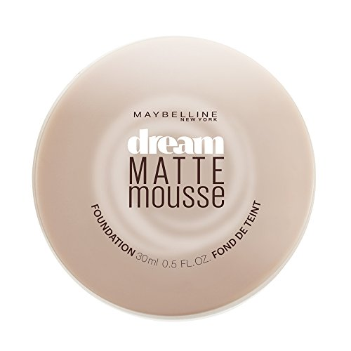 Maybelline Dream Matte Mousse Foundation, Natural Beige, 0.64 fl. oz.