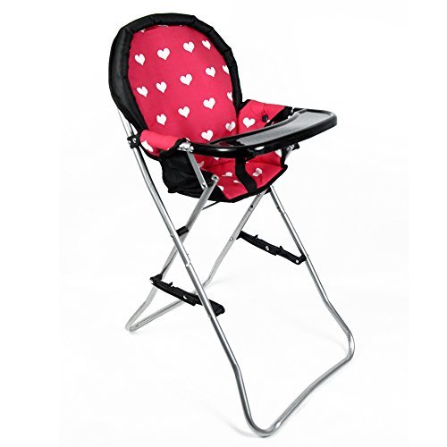 Top doll high chair and stroller set for 2020