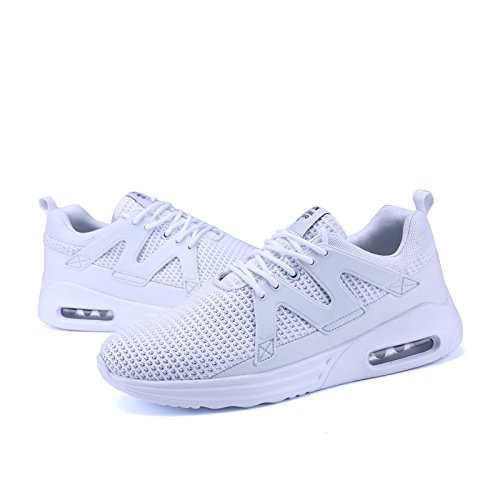 Coussin Running Hommes Casual Femme Sport Outdoor Mesh D'air Sports Gym Blanc01 Fitness 48 De Respirant 35 Chaussures Chaussure rrOx7q0