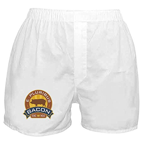 Royal Lion Boxer Short (Shorts) Foodie E Pluribus Bacon King of Meat - XL