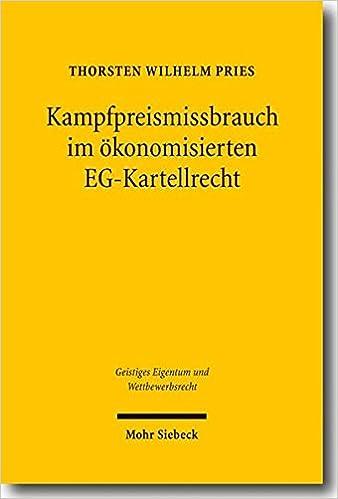Descargar La Libreria Torrent Kampfpreismissbrauch Im Okonomisierten Eg-kartellrecht Libro Patria PDF