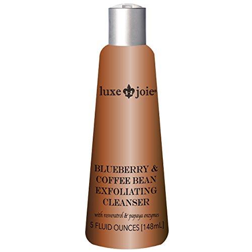 Cheap Blueberry & Coffee Bean 5 oz Exfoliating Cleanser Face Wash Facial Scrub Enzyme Polish