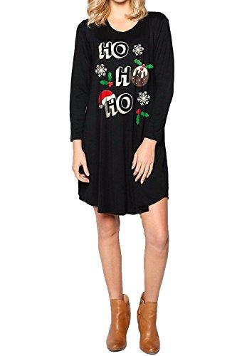 Damen Damen Mädchen Weihnachten Neuheit Jumper Sparkly Proscecco ...