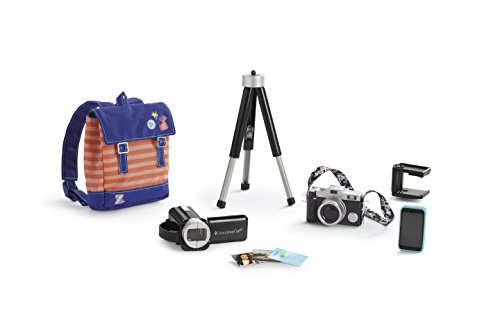 American Girl Z's Filming Accessories
