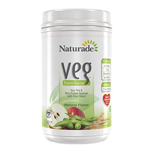 Naturade Veg Protein Booster, Natural Flavor, 26.4 Ounces ()