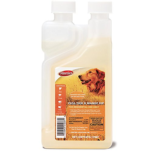 Martin's Flea Tick and Mange Dip Concentrate