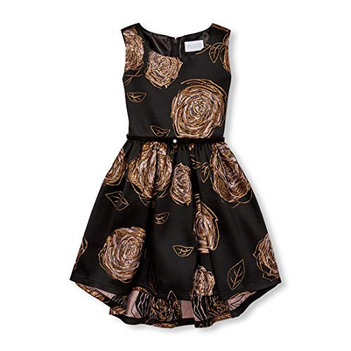 The Children's Place Big Girls Special Occasion Dresses, Black -