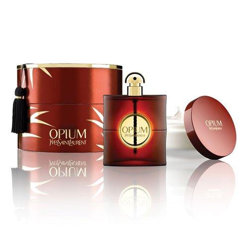 Opium YSL Perfume For Women Gift Set - 3 fl oz EDP Spray AND 6.6 fl oz Body Cream