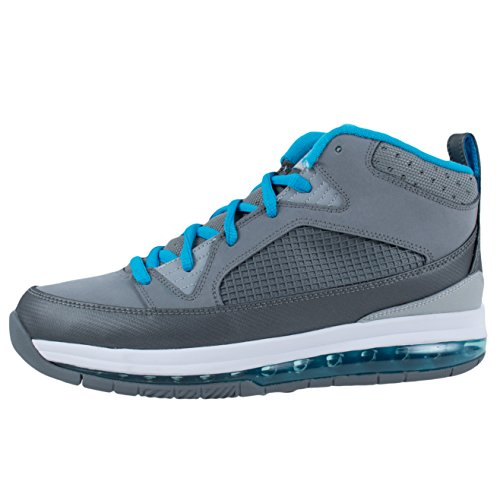Jordan Flight 9 Max Rst Mens Cool Grey / Current Blue-wolf Grey-white