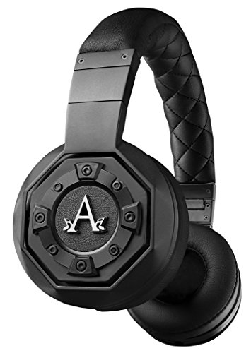 A-Audio A12 Lyric On-Ear Headphone, Matte Phantom Black