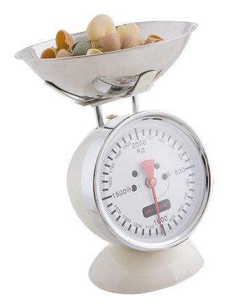 BRANDANI 57749 Mechanical kitchen scale Blanco - Báscula de cocina ...