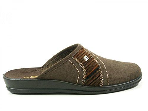 Rohde2687 - Zapatillas de Estar Por Casa Hombre - marrón
