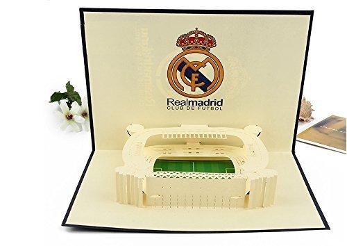 Bc Worldwide Ltd Tarjeta Pop Up 3d Futbol Espanol Real Madrid