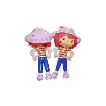 Personaje Hinchable Tarta de Fresa 50 cm: Amazon.es: Juguetes y juegos