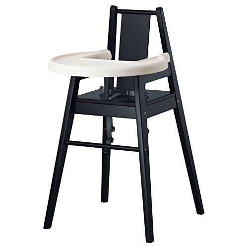 IKEA ASIA BLAMES Highchair with Tray Black