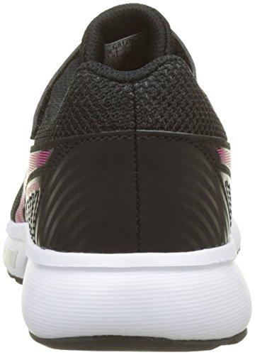 Asics Stormer 2 PS, Zapatillas de Running Unisex Niños Negro (Black/fuchsia Purple/white 9019)