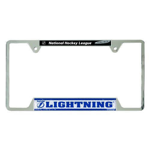NHL Tampa Bay Lightning Metal License Plate Frame by WinCraft