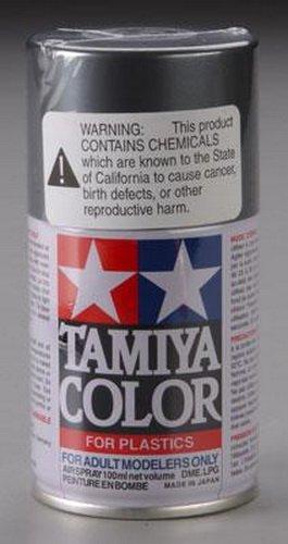 Tamiya TS42 Light Gun Metal 100ml Spray 1:0 Scale