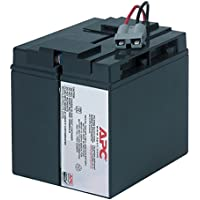 APC RBC7 Replacement Battery Cartridge #7 - UPS battery - 1 x lead acid - black - for P/N: SMT1500, SMT1500I, SMT1500TW, SMT1500US, SU1400I, SU700XLI, SUA1500ICH-45, SUVS1400I