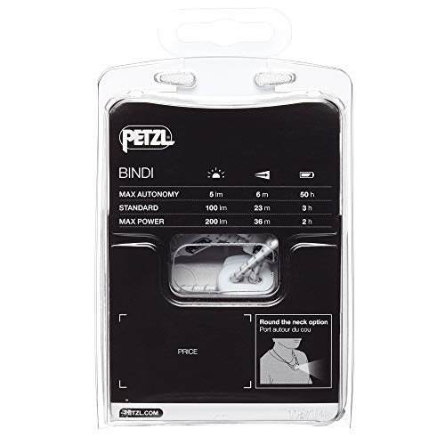 Petzl - BINDI, 200 Lumens, Ultralight, Rechargeable, and Compact Headlamp for Urban Running, Emerald by PETZL (Image #8)