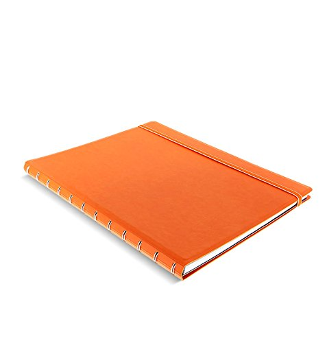 - Filofax A4 Refillable Notebook - Orange