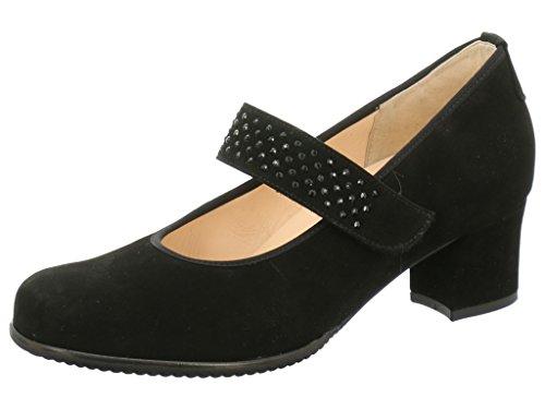 Hassia 304852-0100 - Zapatos de vestir de Piel para mujer negro