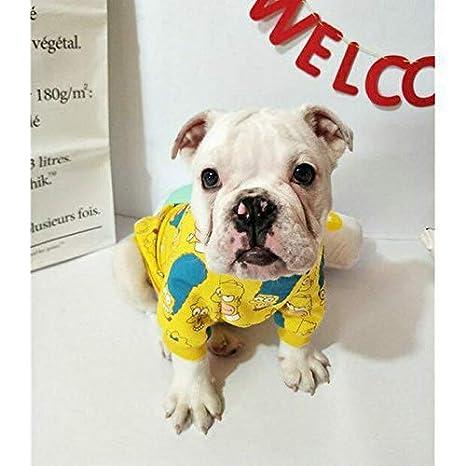 Ropa Suministros para Mascotas Varios Nueva Ropa para Mascotas otoño e Invierno Perro suéter Letras Figura