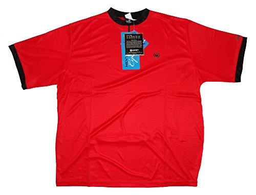 (CANARI Cruiser Men's XXL Short Sleeve Red Cycling Jersey)