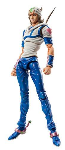 Super Figure Move JoJo's Bizarre Adventure Part 7 Steel Ball Run Jonny Joe Star PVC Figure