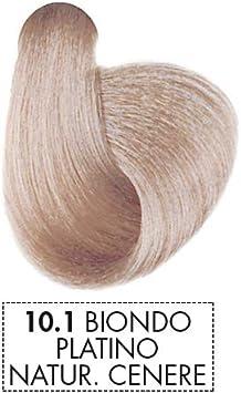 Mystic Color - Coloración Permanente en Crema con Aceite de Argán y Caléndula - Color Natural y Duradero - Tono 10.1 Rubio Platino Ceniza - 100 ml