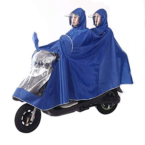 Los De Impermeable Adultos Motocicleta Y Mode Del Marca Mujeres Lluvia Poncho La Doble Coche J Eléctrica Bolawoo q65Uwdq