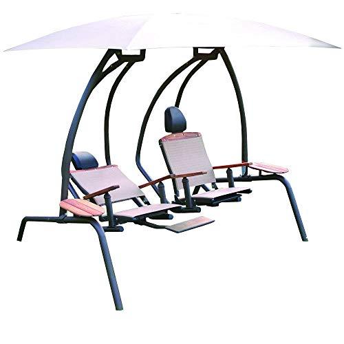 - The Ultimate Dual Recliner Swing Set
