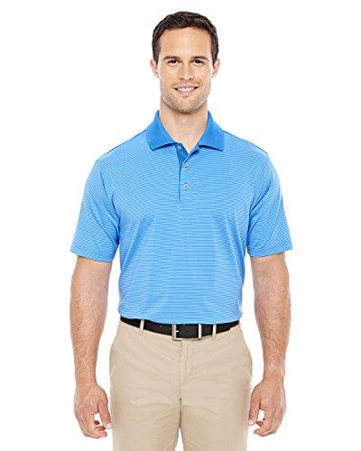 adidas Golf Men's climalite Classic Stripe Polo, 3XL, TWILIGHT/TIDE (Adidas Shirt Polo Classic)