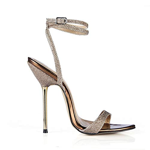 Hot Heaven Sexy Party Shoes Women Stiletto High Metal for sale  Delivered anywhere in Canada