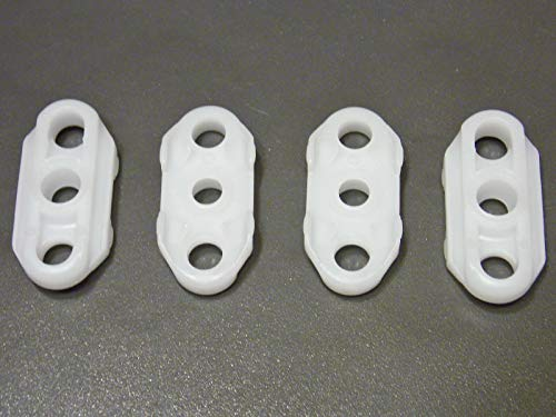 Online Auto Supply Fits Impala Caprice Fleetwood Roadmaster Window Guides 4 pcs Roller Guide ()