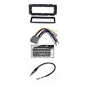Alpine CDE-143BT Advanced Bluetooth CD Receiver W/ CAR STEREO DASH INSTALL MOUNTING KIT WIRE HARNESS FOR CHRYSLER JEEP DODGE