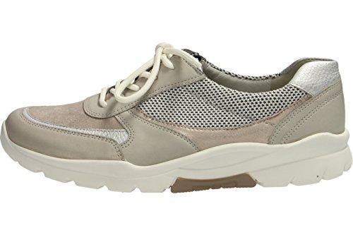 Cordones Mujer Zapatos Waldl ufer de marr Haruka Piel de para Ixgq4
