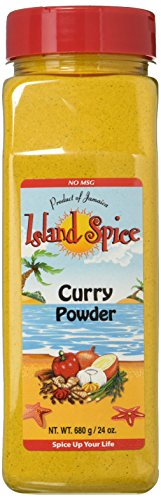 Island Spice Curry Powder, Jamaican, 24 (Curry Powder Chicken)