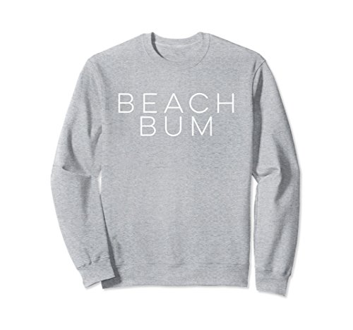 (Unisex Beach Bum Sweatshirt Small Heather)