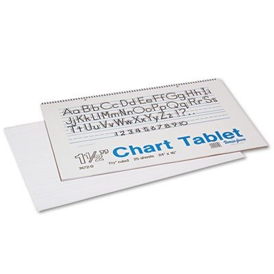 PAC74720 - Pacon Chart Tablets w/Manuscript Cover (Pac74720 Chart)