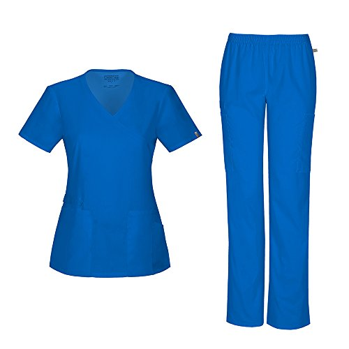 Cherokee Womens Workwear 44801A Elastic