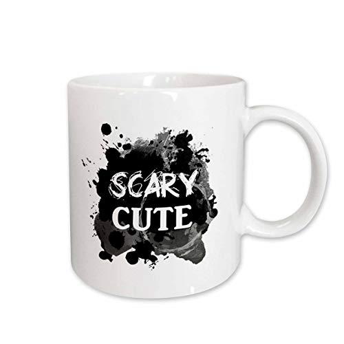 3dRose InspirationzStore - Occasions - Scary Cute - Funny Halloween Humor - humorous So sweet its Spooky - 15oz Mug (mug_317322_2)]()