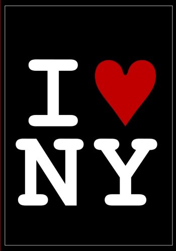 I Love New York Notebook: A Classic 7x10 Inch Lined/Ruled Notebook with I Heart NY Cover (Cute notebooks for women,cute notepads teen girls,school set ... work line pages,journals to write in) pdf