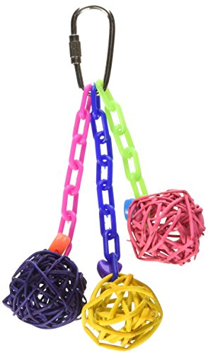Image of Super Bird Creations 5-1/2 by 2-Inch Mini Vine Chain Bird Toy, Small