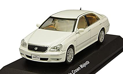 Buy Kyosho original 1/43 Toyota Crown Majesta White Pearl Online at
