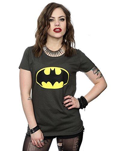 DC Comics Women's Batman Logo T-Shirt X-Small Light -