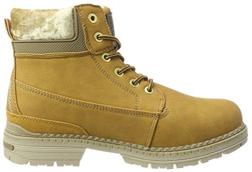 H.I.S Damen 63868 Combat Boots Gelb (Camel)