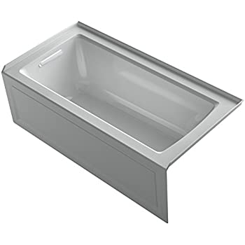 Kohler K 1946 La 95 Alcove Bath With Integral Apron Tile
