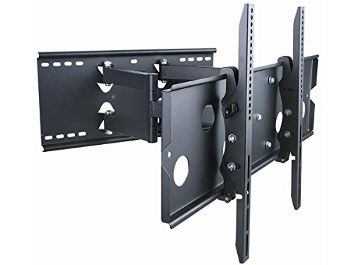 (Monoprice Titan Series Full-Motion Articulating TV Wall Mount Bracket for TVs 32in to 60in Max Weight 175 lbs Extension Range of 5.0in to 20.0in VESA Up to 750x450 Works with Concrete & Brick)