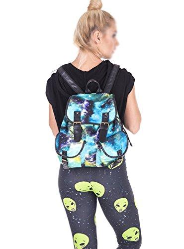 Meliya - Bolso mochila  para mujer, verde (verde) - FS-bb-01266-01YA verde